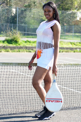 model photography tennis photoshoot