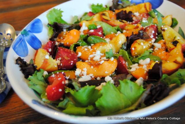 Grilled Fruit Salad at Miz Helen's Country Cottage