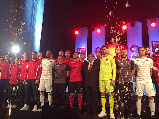 Jersey Albania EURO 2016