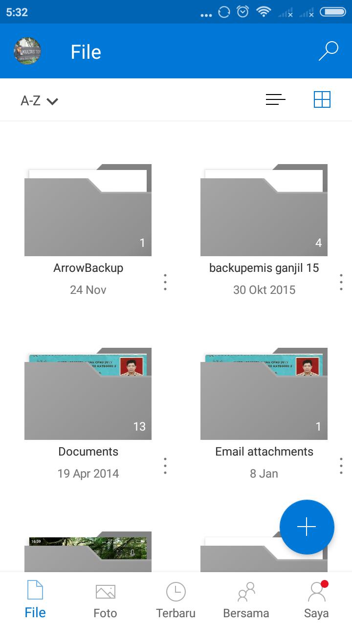 Aplikasi OneDrive Android Mendapatkan Update Tampilan Baru