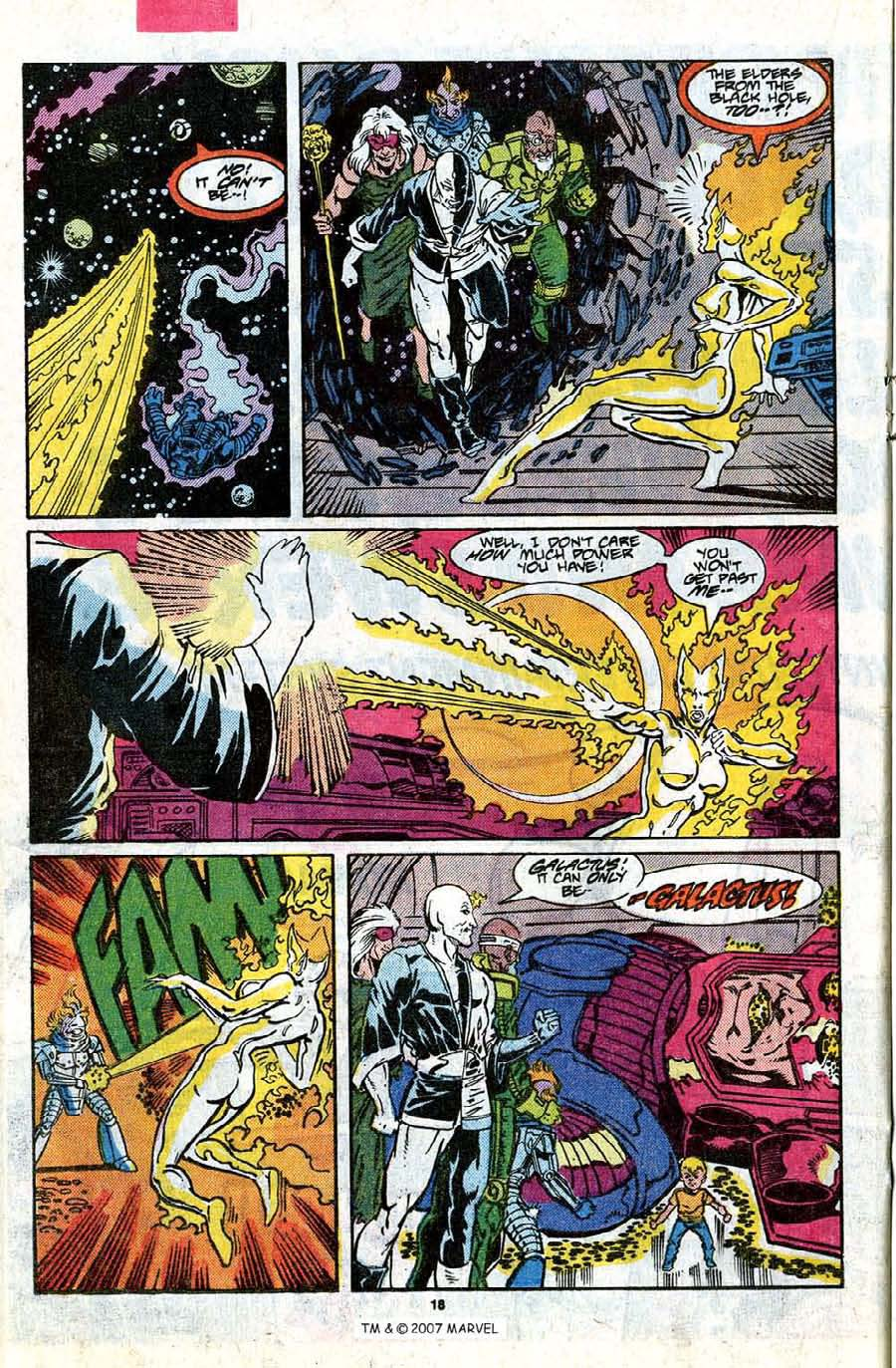 Read online Silver Surfer (1987) comic -  Issue #17 - 20