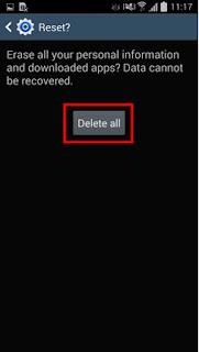 Cara Melakukan Factory Reset di Smartphone Android Samsung 11