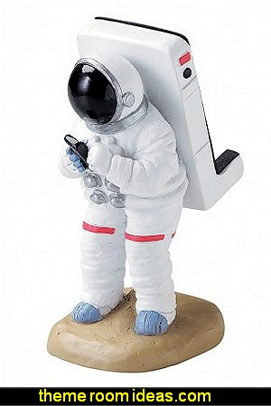 Astronaut iPhone Stand  Gift ideas - fun novelty gift shopping ideas - gift ideas - slippers - sleep wear - personalized gifts - cool stuff to buy