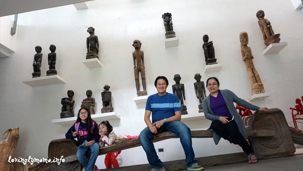 Baguio City - Bencab Museum - Igorot wooden sculptures