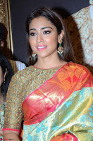 Shriya Saran Looks Stunning in Silk Saree at VRK Silk Showroom Launch Secundrabad ~  Exclusive 067.JPG