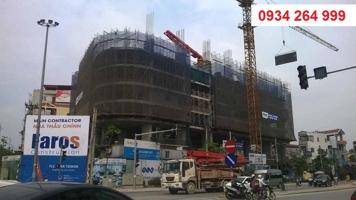 Hình ảnh công trường dự án cập nhật tháng 5/2016