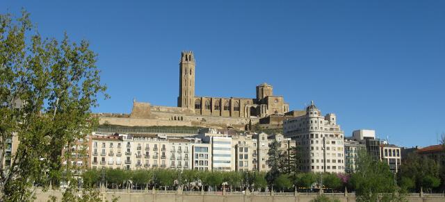 Skyline del turó de Lleida