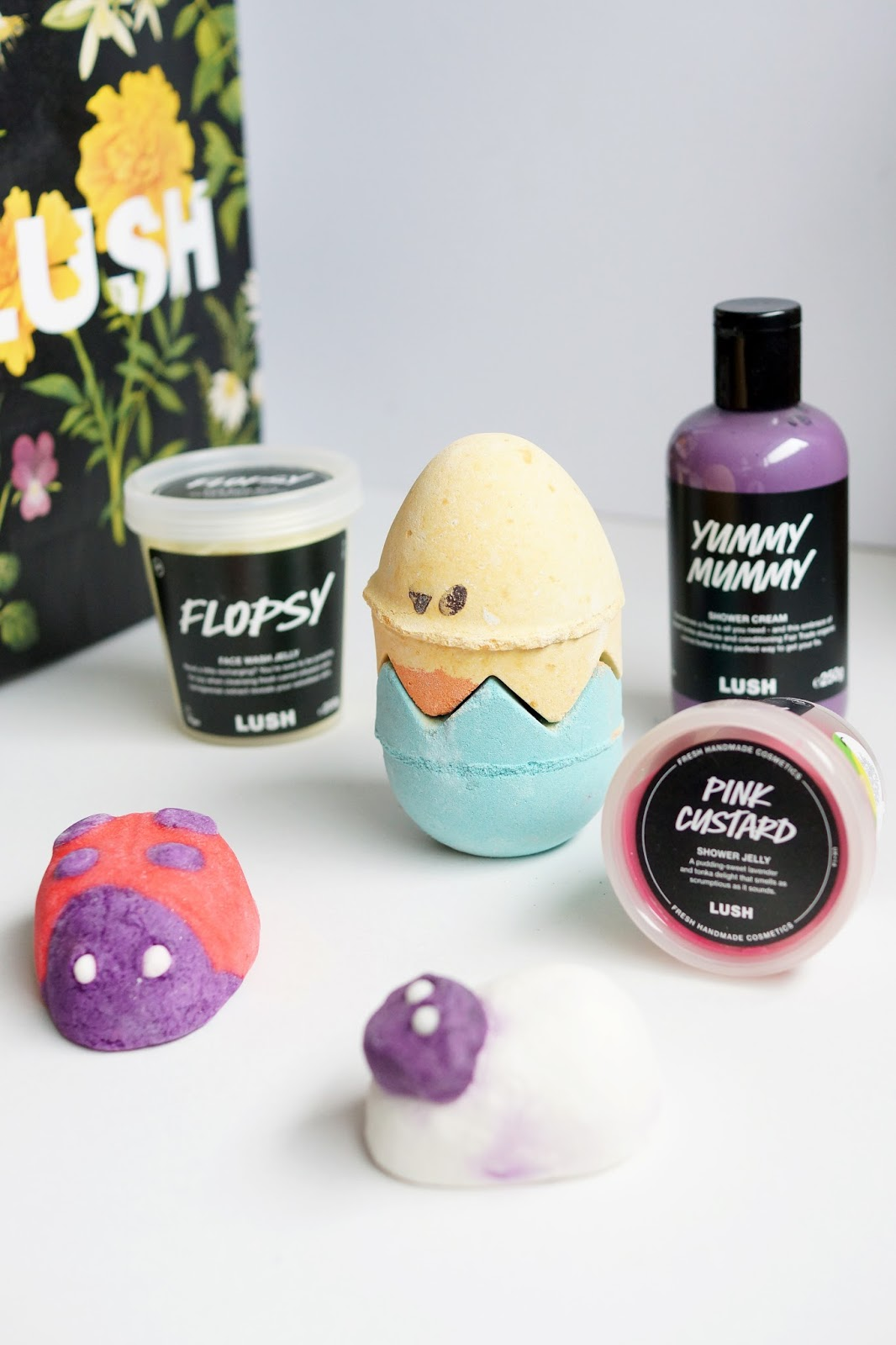 Hello Freckles Lush Spring Mothers Day Easter Limited Edition Products NEbloggers
