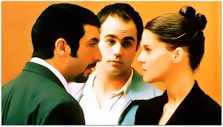 Nove Rainhas - Marcos (Ricardo Darín), Juan (Gastón Pauls) e Valeria (Leticia Brédice)