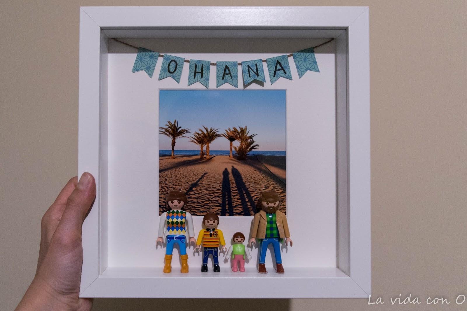 La vida con O: Cómo hacer un cuadro Playmobil DIY
