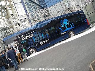 yerli ve elektrikli Temsa otobüs