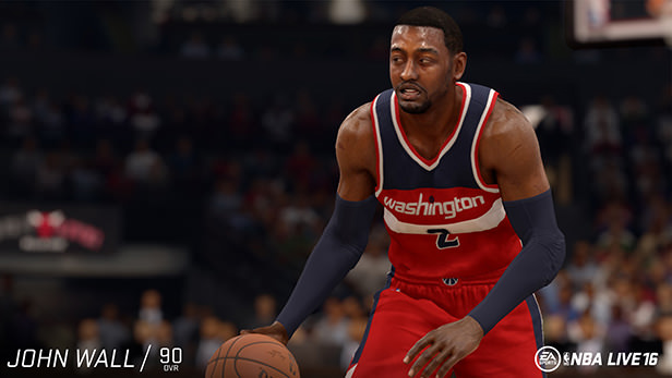 NBA Live 16 John Wall rating