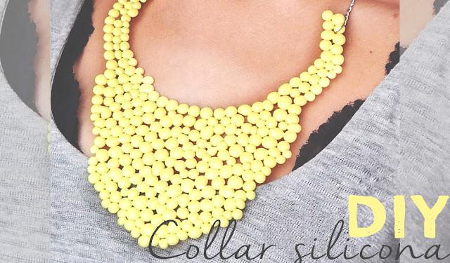 diy collar silicona
