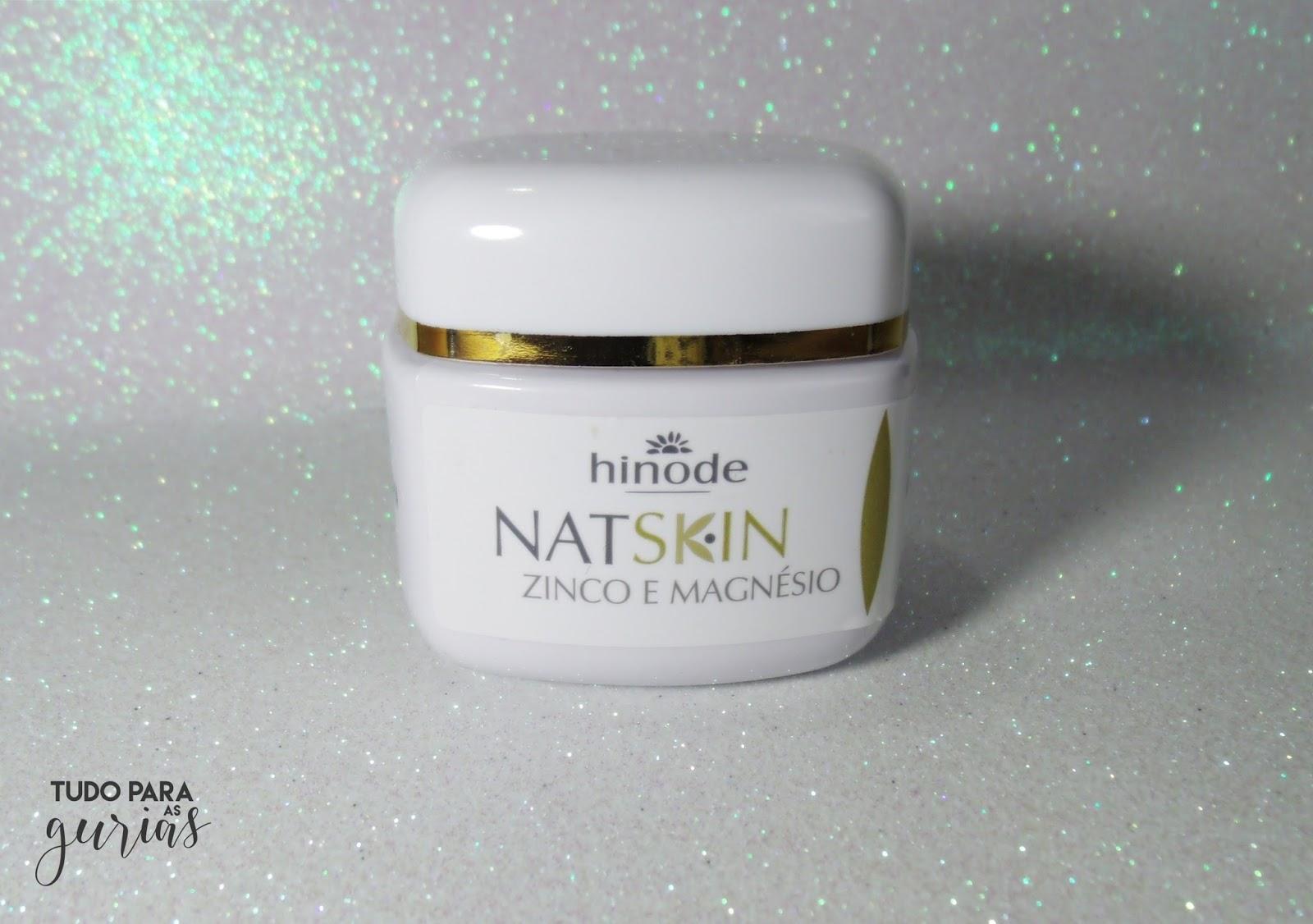 Testei e gostei:Creme facial Revitalizante NAT SKIN da Hinode.