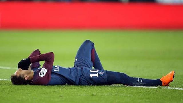 حقيقة مشاركة نيمار في مباراة ريال مدريد بعد إصابة في مباراة مارسيليا في الدوري الفرنسي