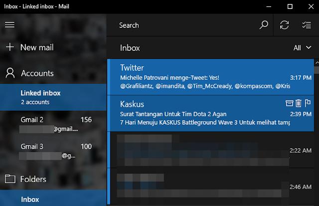Cara Satukan Banyak Inbox dari Akun yang Berbeda di Aplikasi Mail