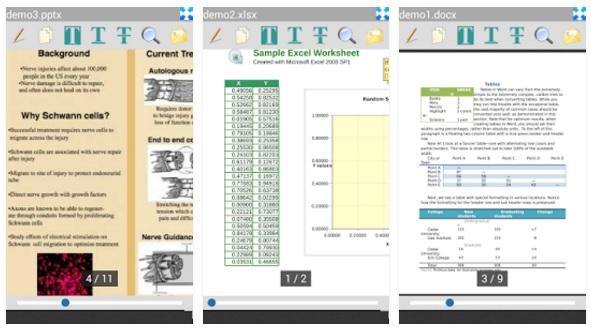 تطبيق مجاني لفتح جميع ملفات وورد وإكسيل وباوربوينت وPDF علي ألأندرويد OffiStar Word Excel Powerpoint