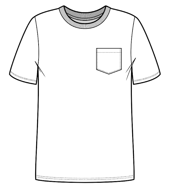 fashion-design, shirt-flat-sketch, t-shirt-flat-sketch, t-shirt-sketch, technical-sketch, flat-sketching-tutorial