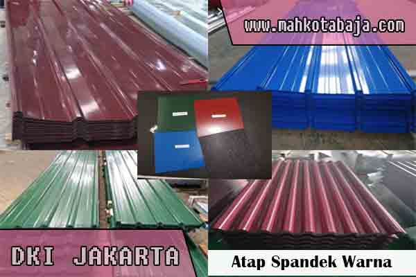 harga atap spandek warna Jakarta