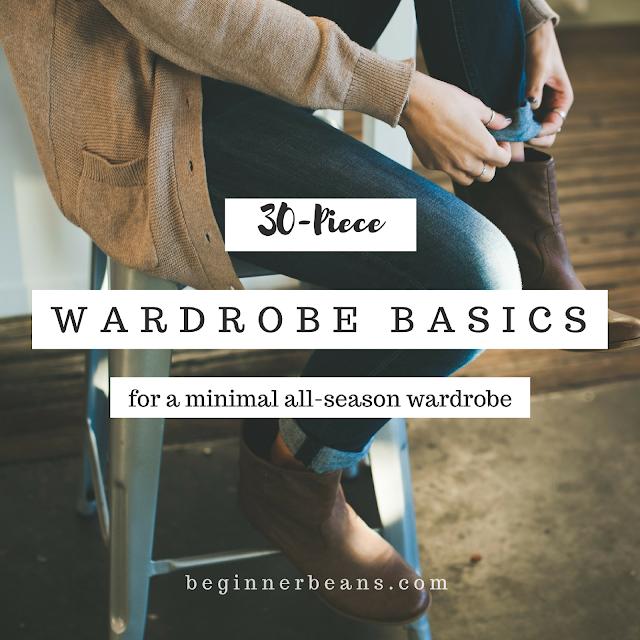 30-Piece Wardrobe Basics for a Minimal All-Season Capsule