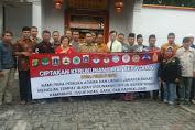 FKUB Bersama Tiga Pilar Kecamatan Tambora Deklarasi Pemasangan Spanduk Pemilu 2019