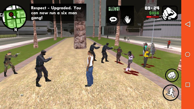 Zombie Mod for GTA SA Android v1.4 [BEST] android download gtaam