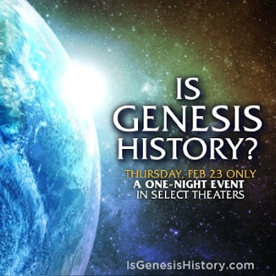 """Is Genesis History?"" creation science documentary"