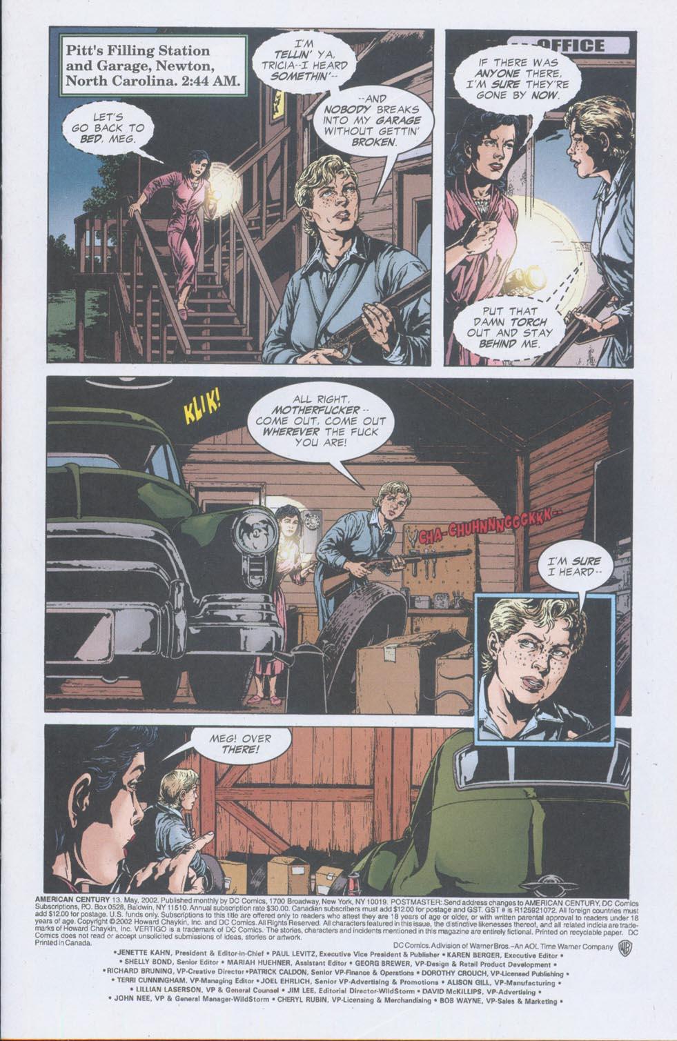 Read online American Century comic -  Issue #13 - 2