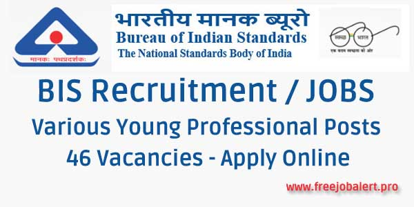 BIS Recruitment 2018 Young Professional Posts / Vacancies Apply Online