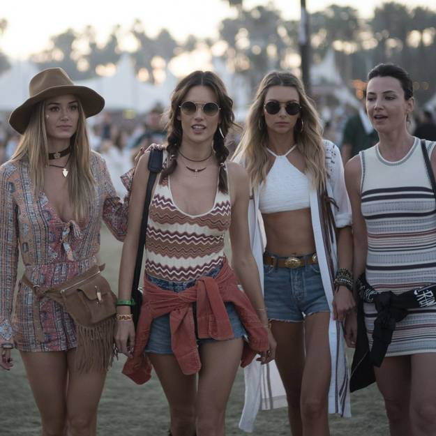 3 ways to dress well to go to a festival