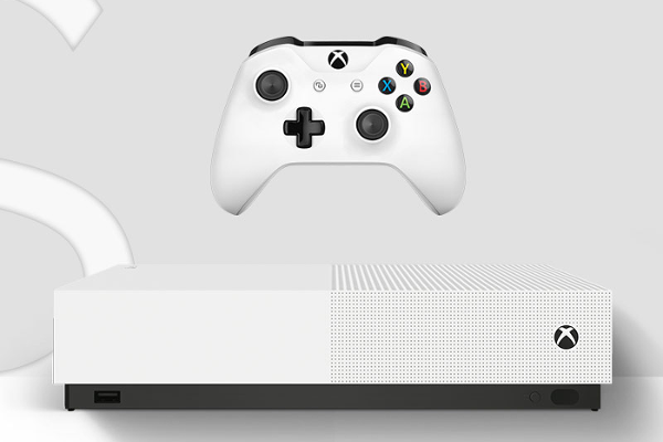 Microsoft launches disc-less Xbox One S All-Digital Edition