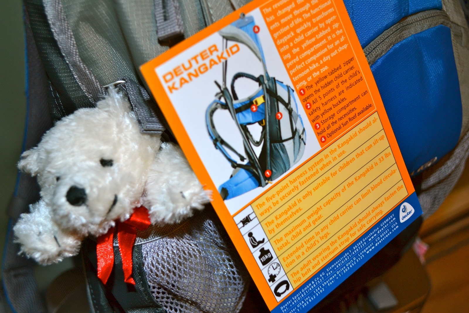 Kangakid By Deuter Review And Giveaway Mama Luvs Books