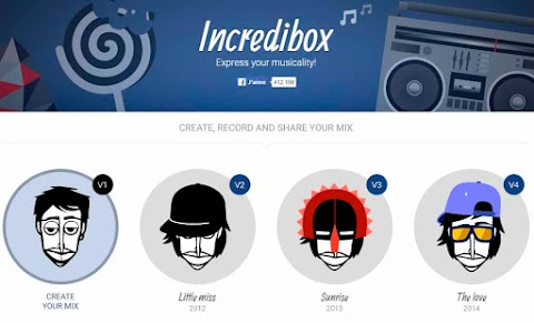INCREDIBOX: Aplicación para la recreación de patrones de ritmo