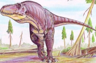 Imagen de Tarbosaurus a colores
