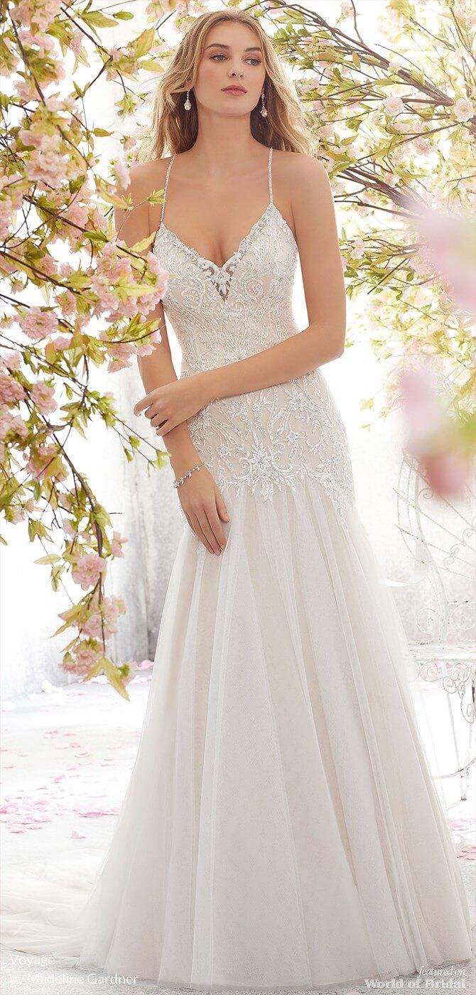 1f7c93475efc Voyage by Madeline Gardner Fall 2018 Wedding Dresses - World of Bridal