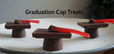 Graduation Cap Treats Adventures of D and V