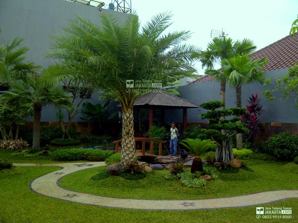 taman minimalis - tukang taman jakarta