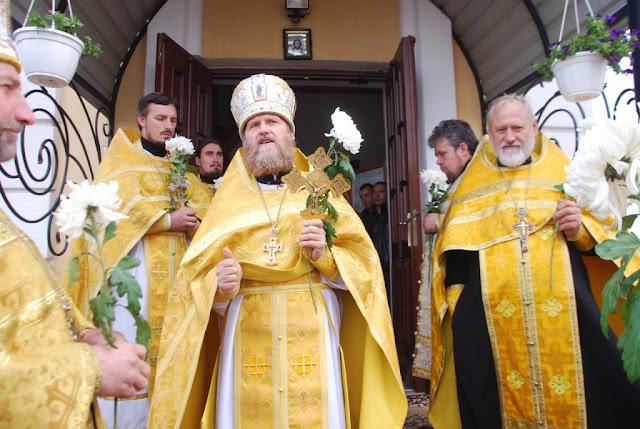 Отець Олександр Кратюк на казанні