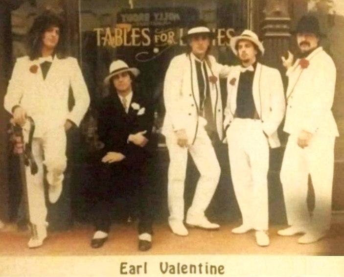 EARL VALENTINE - Night Blindness (1987)