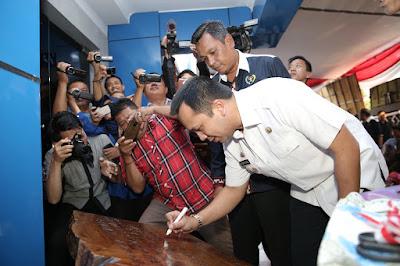 Gubernur Ridho Resmikan Kantor PWI Lampung