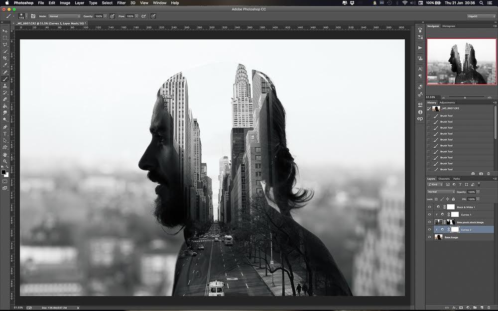Создать картинку в фотошопе