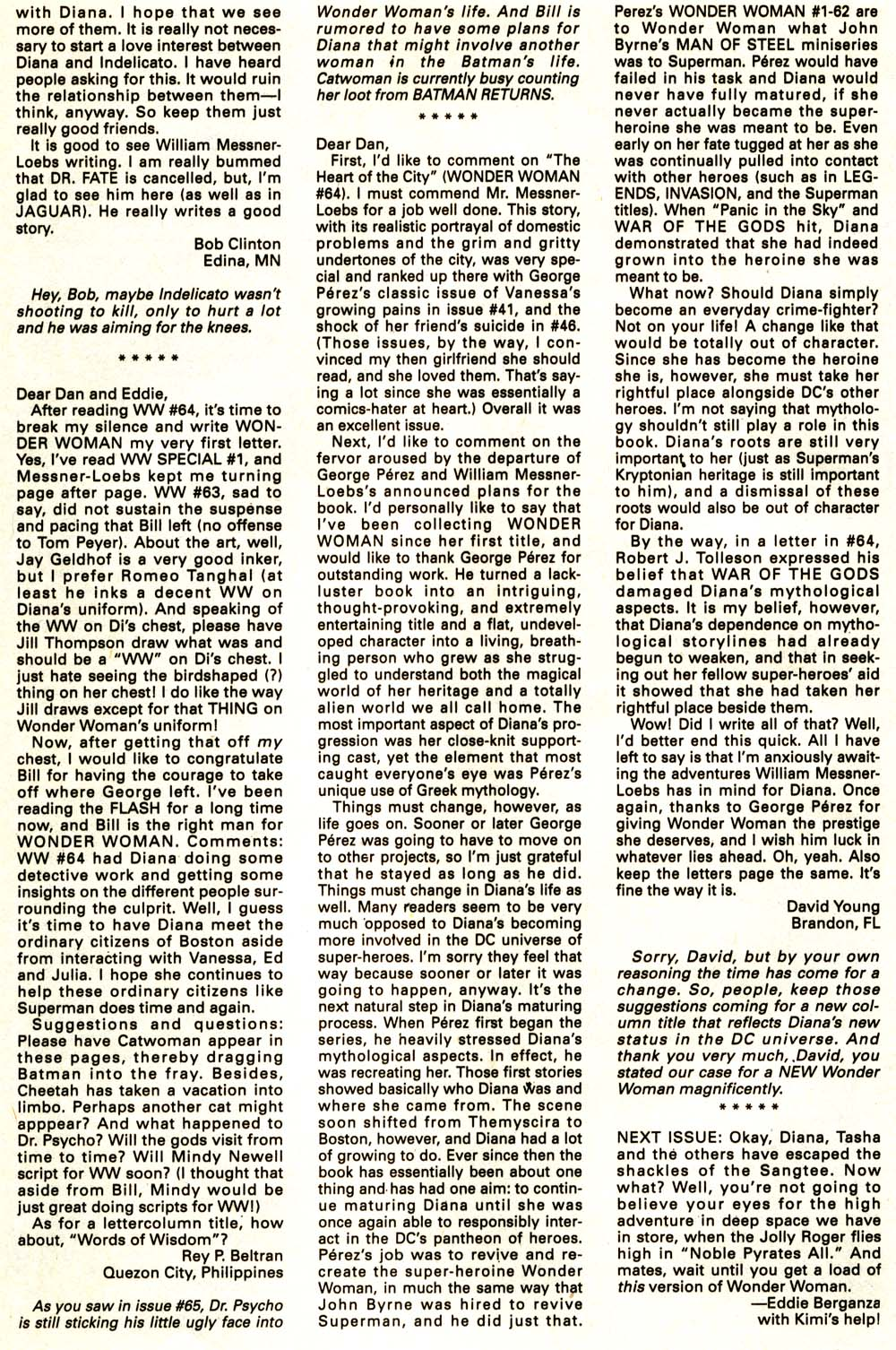 Read online Wonder Woman (1987) comic -  Issue #68 - 25