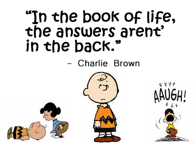 Quote - Self Help by Charlie Brown - Ed\'s ChOpsTick Soup