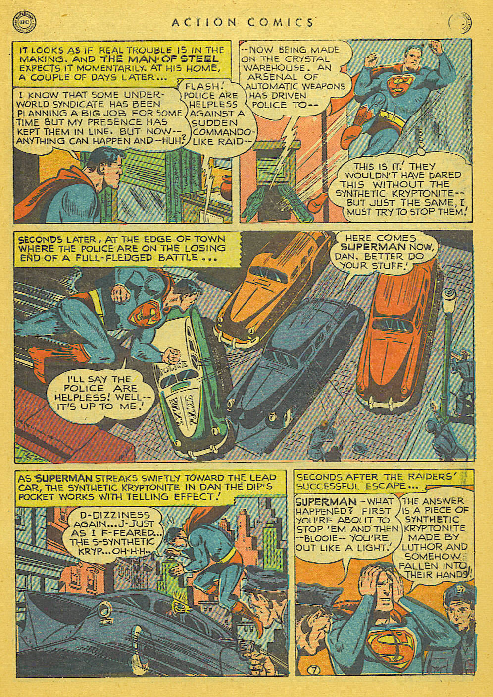 Read online Action Comics (1938) comic -  Issue #142 - 8