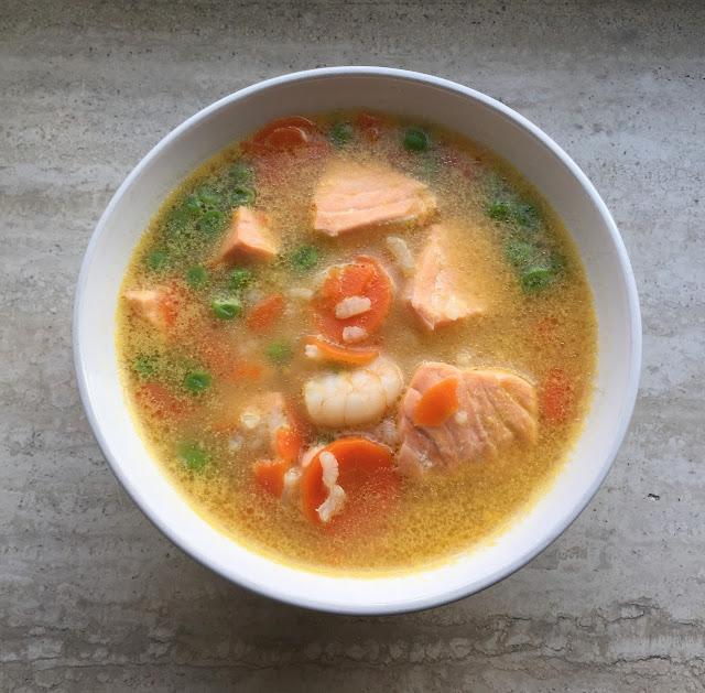 Fish Soup, sopa de pesacdo