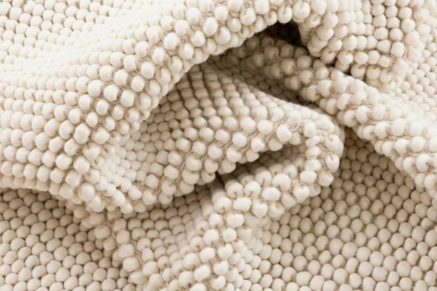 Alfombra dormitorio lana