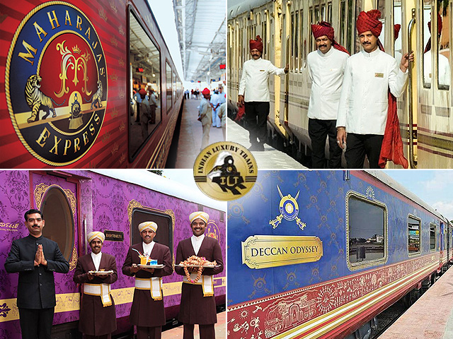 Bloggers on a ride to Promote Luxury Trains of India
