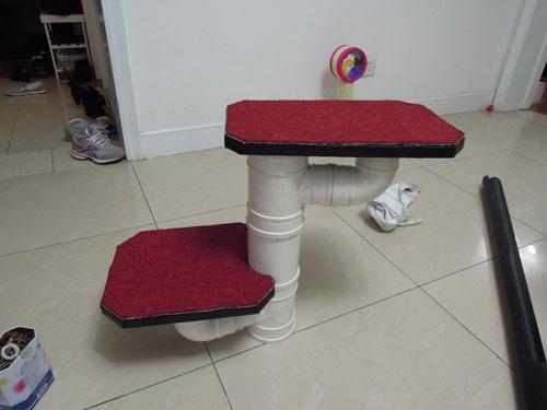 Diy Floor To Ceiling Cat Tree Meow Cat Com