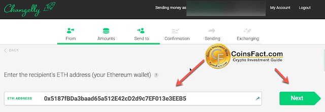 How to Exchange Bitcoin with Altcoins on Changelly with Credit Card?