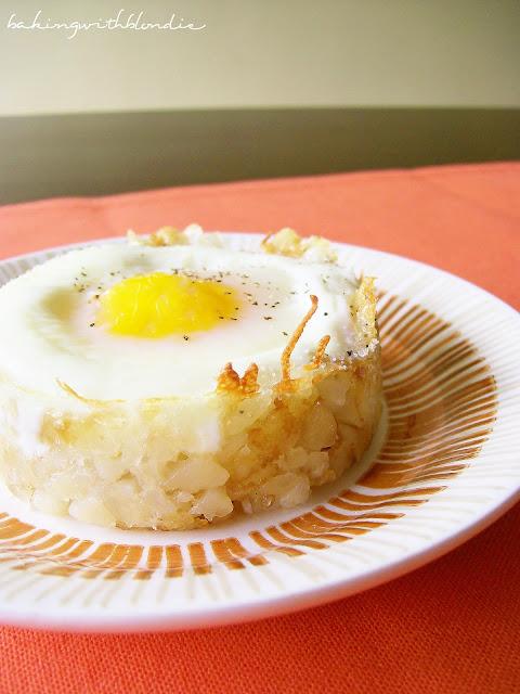 Baked Eggs Napoleon